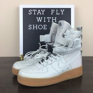 Nike SF Air Force 1 High 'Light Bone'